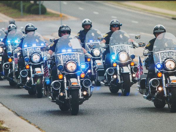 A History of Harley Davidson Police Motorcycles