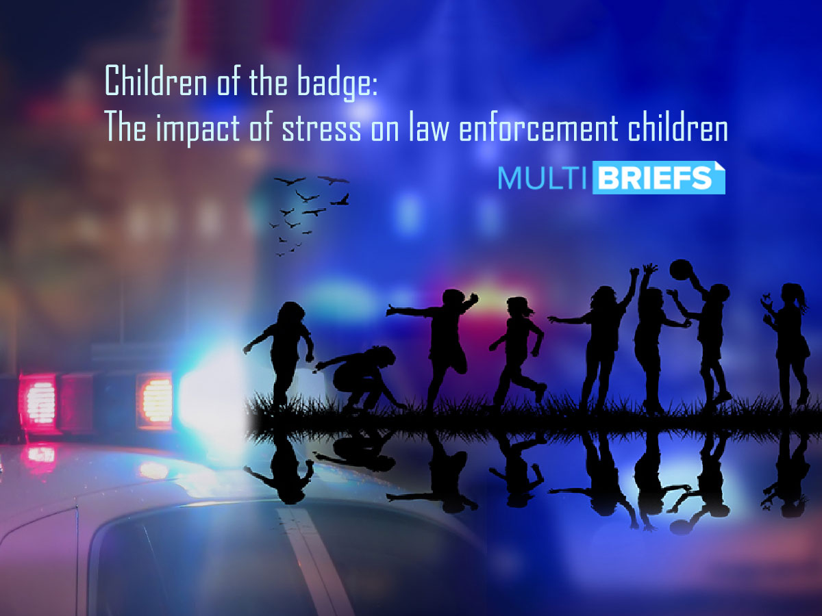 """Mark Bond wrote for Multibriefs, """"Children of the badge: The impact of stress on law enforcement children"""""""