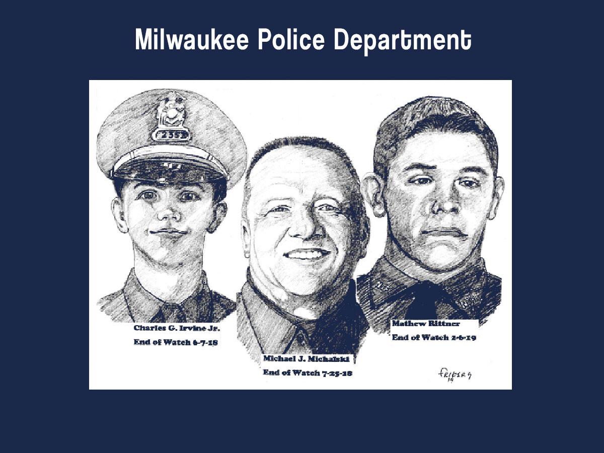 Milwaukee Police Association, IUPA Local  #21 Fallen Heroes