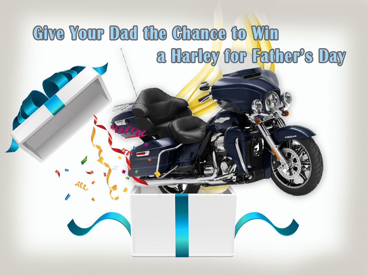 Give Your Dad the Chance to Win a Harley for Father's Day While Helping LEOs and Their Families!