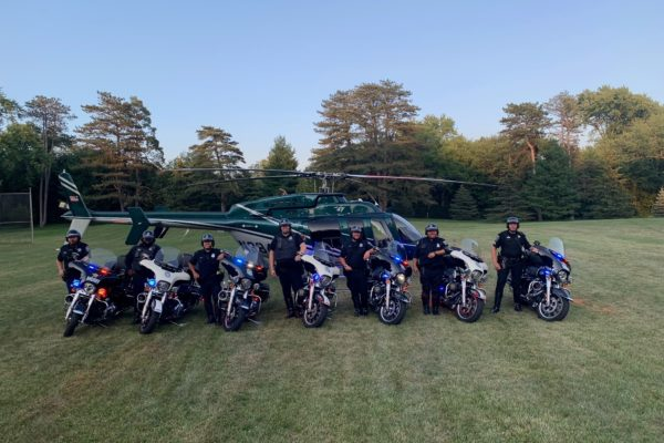 Motorcycles and Helo